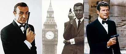 James Bond official theme song performers list
